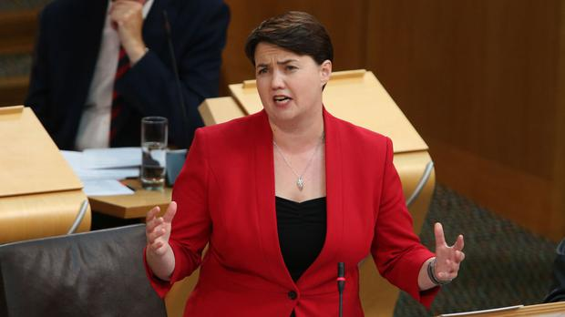 Ruth Davidson campaigned for a Remain vote