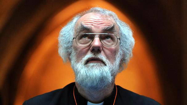 Lord Dr Rowan Williams will deliver a speech as leaders of Britain's major faiths criticise the Government's response to the Syrian refugee crisis
