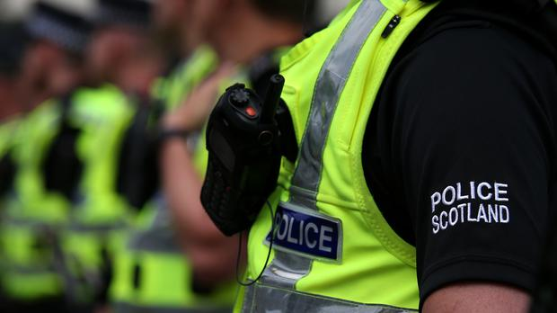 Police are investigating the death of a five-year-old boy after an accident in Glasgow