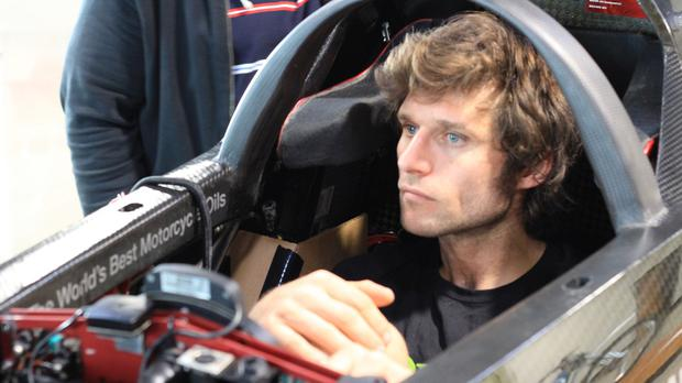 Guy Martin will aim to break the record in Utah