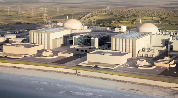 Plans for the new Hinkley Point C nuclear power station have been the subject of debate in the Commons (EDF/PA)