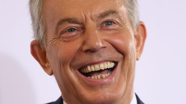 Tony Blair was a notable absentee from the guest list when Mr Murdoch married Jerry Hall in March this year