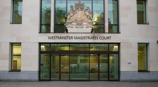 Haroon Ali-Syed appeared at Westminster Magistrates' Court