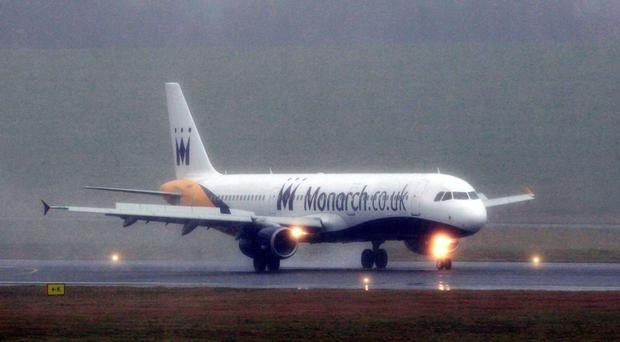 The women were scheduled to fly out to Ibiza on Tuesday night on a Monarch Airlines flight from Manchester Airport
