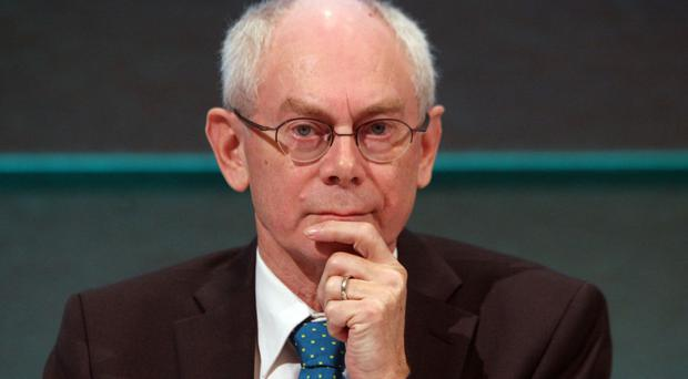 Former European Council president Herman van Rompuy