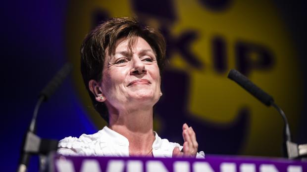 Diane James was the new leader of Ukip