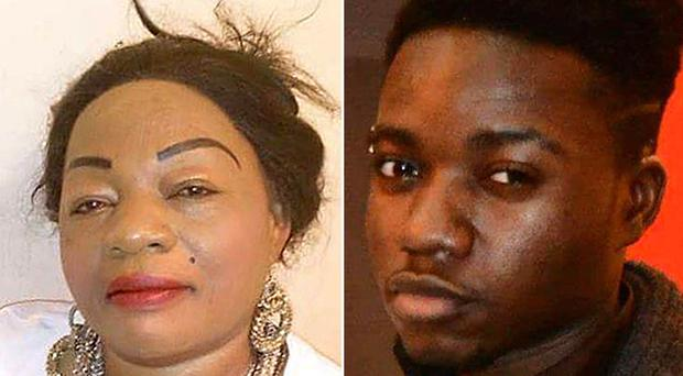 Mother of nine Annie Besala-Ekofo and nephew Bervil Kalikaka-Ekofo died after suffering gunshot wounds