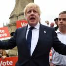 Boris Johnson only campaigned to Leave the EU to further his political ambitions, one of his Foreign Office ministers claimed on the eve of the referendum vote.