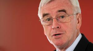 The shadow chancellor described the former Tory minister as a 'stain on humanity'