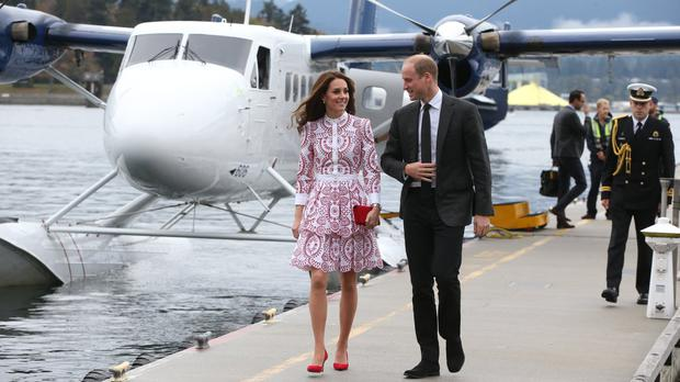 William and Kate charm the Heiltsuk Nation in remote Canada rainforest