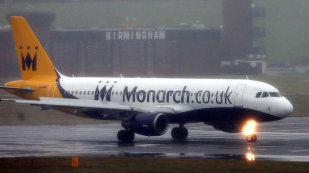 Monarch said it was 'trading well' and expected to make £40 million before tax and other deductions by the end of the financial year to October
