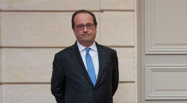 Mr Hollande said Britain must be involved in the