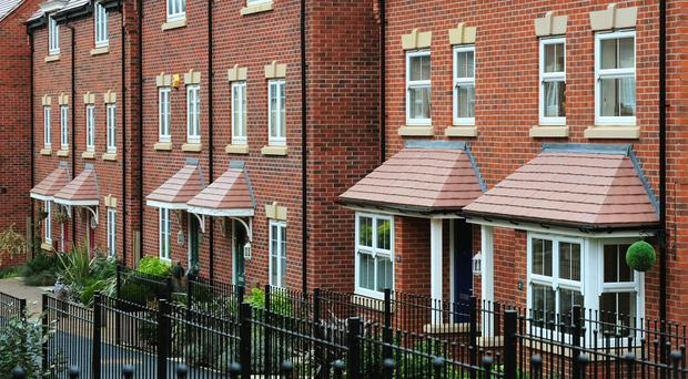 The number of mortgages being approved to home buyers in August hit its lowest level since January 2015, a report from the British Bankers' Association (stock picture)