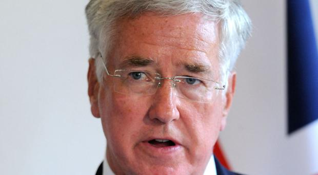 Michael Fallon said Nato must remain the cornerstone of Britain's defence