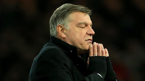 Sam Allardyce was in charge for one game.