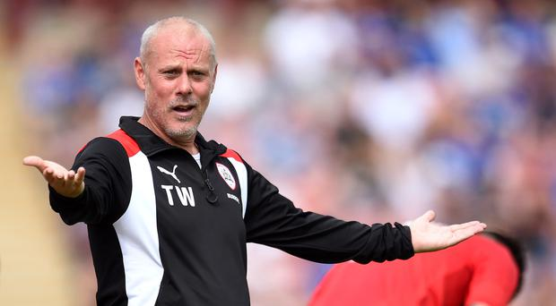 Barnsley coach Tommy Wright has been suspended following the allegations in the Daily Telegraph