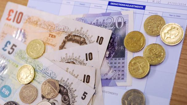 The national minimum wage increases by 25p an hour to £6.95 for workers aged 21-24