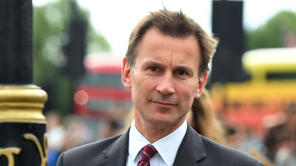 Jeremy Hunt said the referendum showed the free movement of EU citizens should end