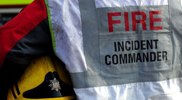 Fire crews said they found one person dead after a plane crashed at an airfield in Norfolk