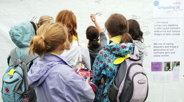 Girls as young as seven believe women are judged on beauty not brains, a survey has revealed