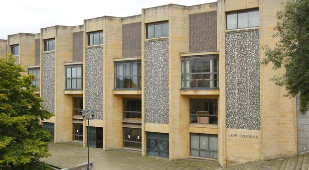 A girl aged 14 lured her friend to a quiet part of the school grounds and stabbed her, Winchester Crown Court heard