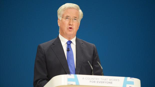 Sir Michael Fallon said he was