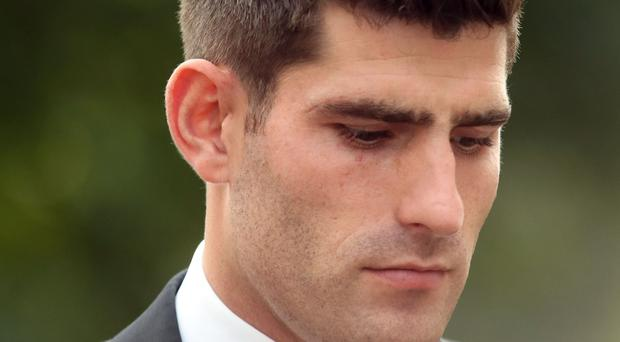 Footballer Ched Evans is facing a retrial at Cardiff Crown Court