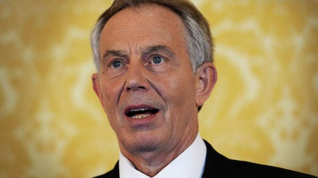 Former premier Tony Blair has refused to rule out a return to politics