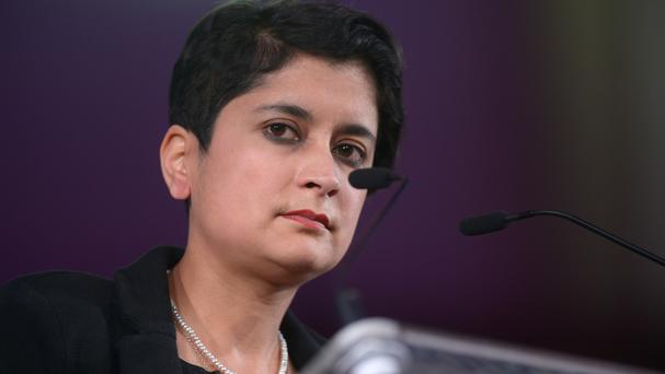 Shami Chakrabarti is the former head of civil rights organisation Liberty