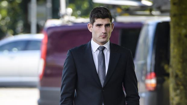 Footballer Ched Evans was on trial accused of raping a woman in May 2011