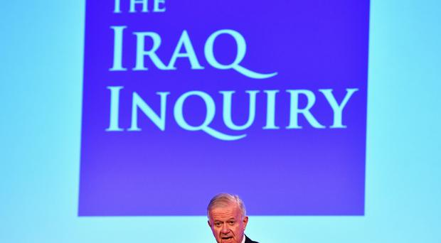 Sir John Chilcot presented the Iraq Inquiry Report in London in July