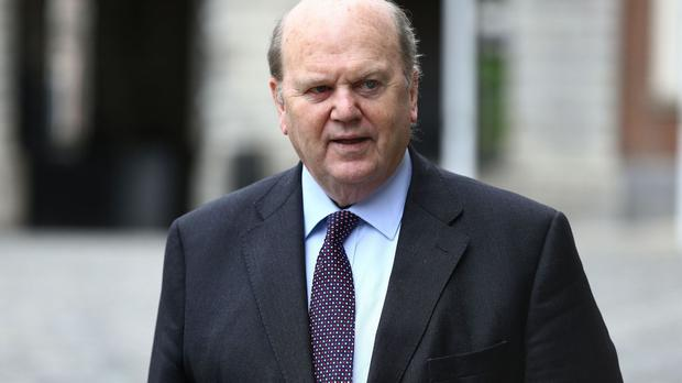 Michael Noonan delivered the first Budget by a minority Government