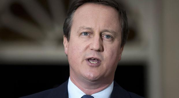 David Cameron has been appointed chairman of NCS Patrons