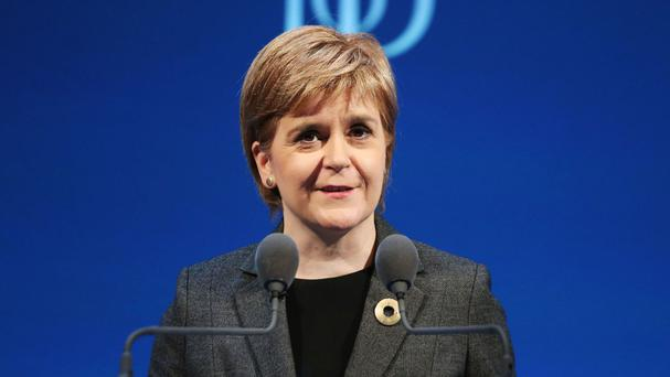Nicola Sturgeon will set out her party's response to Brexit, and contrast it with the 'deeply ugly' vision of the Westminster Tory Government