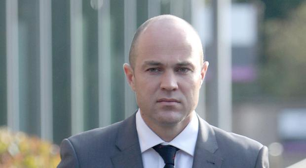 Army sergeant Emile Cilliers arriving at Salisbury Magistrates' Court