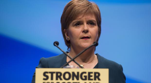Nicola Sturgeon said Scotland had found itself in a position it did not want to be in as a result of the Brexit vote