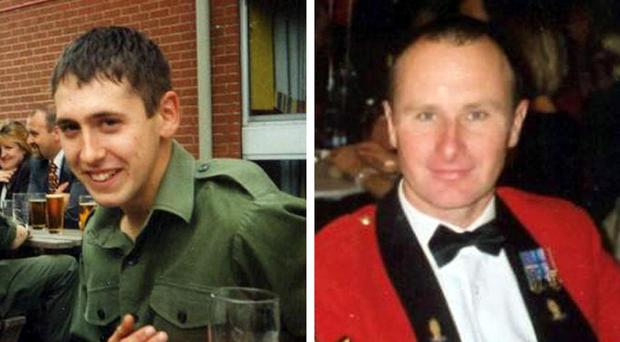 The probe is focused on allegations of ill-treatment of two Iraqis who were accused of involvement in the deaths of two British soldiers - Sapper Luke Allsopp, left, and Staff Sergeant Simon Cullingworth