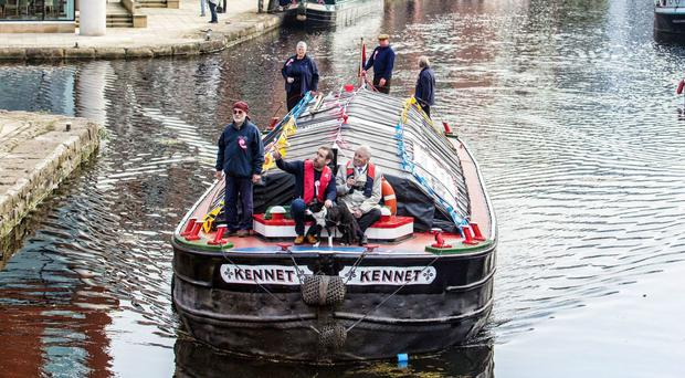 Former working boat Kennet on the Leeds and Liverpool Canal (Stephen Garnett/Canal & River Trust/PA)