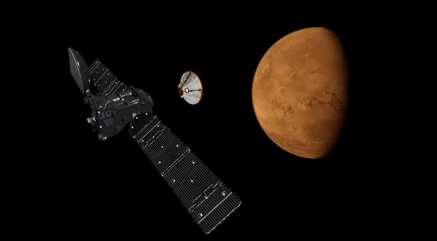 Schiaparelli is the first Esa probe in nearly 15 years to attempt to land on Mars