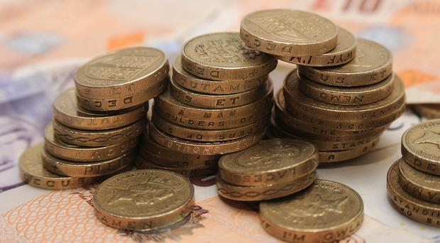 Sterling was down 0.1% against the US dollar and 0.2% against the euro