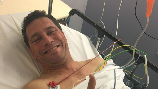 Ukip MEP Steven Woolfe ended up in hospital after the 'altercation'