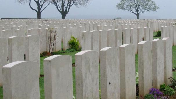 Two British First World War soldiers whose graves were wrongly marked in a Somme cemetery for more than a century will be laid to rest with full military honours