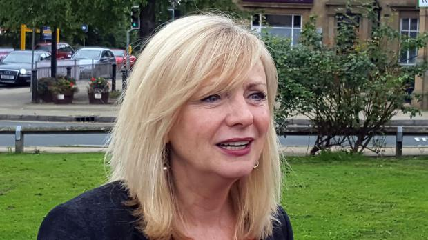 Former Coronation Street actress and Labour candidate Tracy Brabin is standing in Batley and Spen by-election