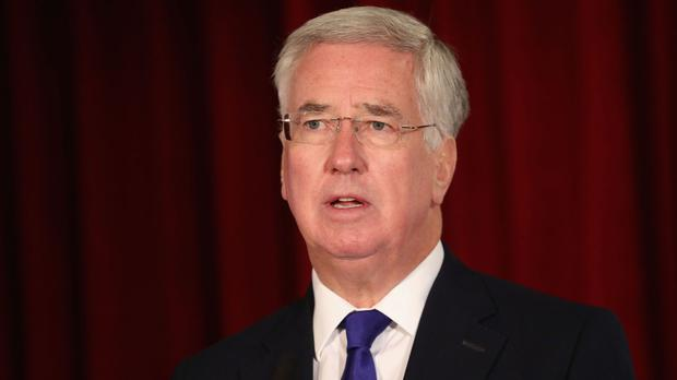 The Defence Secretary was speaking at an international conference on waging war through advanced technology