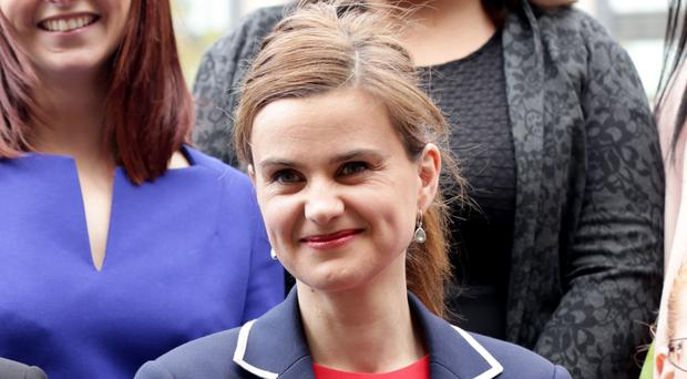 Jo Cox, whose death shocked the world when she was shot and stabbed outside her constituency surgery