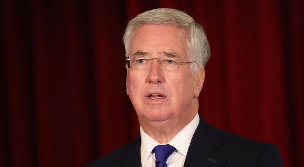 Sir Michael Fallon has announced that UK troops are to support Nato's efforts in Kosovo next year