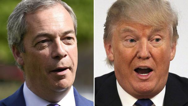 Nigel Farage said revelations about Donald Trump have seriously damaged his prospects of getting into the White House
