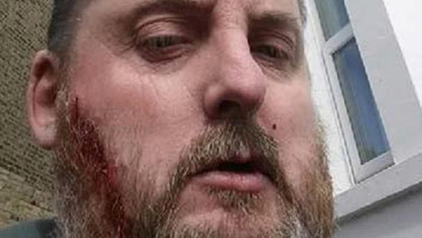 Michael Danaher took a selfie after he murdered Adrian Greenwood (Thames Valley Police/PA)