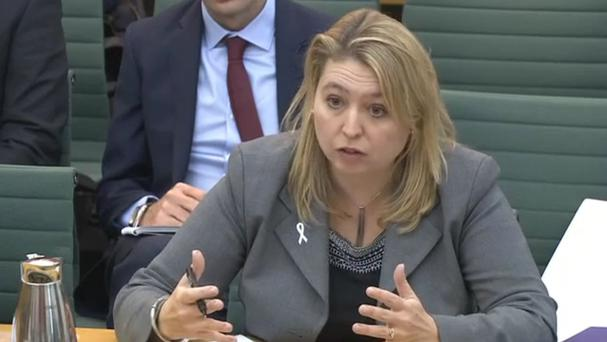 Culture Secretary Karen Bradley appearing before the Commons Culture, Media and Sport Committee