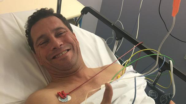 Steven Woolfe was treated in hospital after the altercation with fellow MEP Mike Hookem in Strasbourg